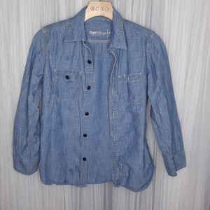 Denim button up shirt great condition